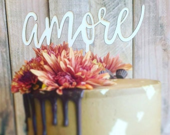 Amore - Cake Topper