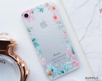 Floral iPhone Case iPhone 8 Case iPhone 8 Plus Case iPhone 7 Case iPhone 7 Plus Case iPhone 6s Case iPhone 6s Plus Case iPhone 6 Case iPhone