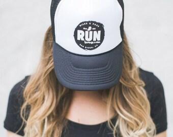 Miles & Pace Run Trucker Hat