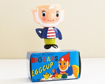 Big Ears Egg Cup- Kitsch - Collectable - 1960's - 70's Era