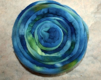 Hand-dyed Merino Wool 'Sorgente' - combed tops