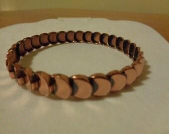 Mid century Renoir Copper Bangle Bracelet