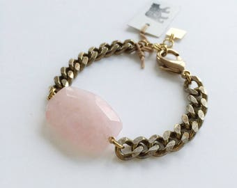 Rose Quartz Crystal Power Bracelet