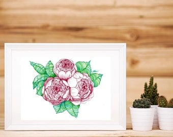 Peonies Artwork