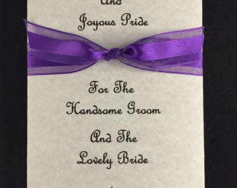 Set of 50 Wedding Tissue Packs - Not Personalized
