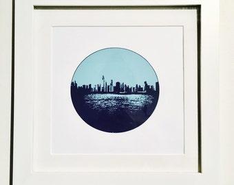 Chicago Skyline Screen Print
