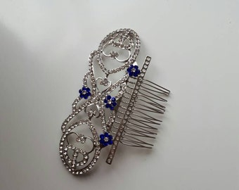 Bella wedding hair comb clip headdress