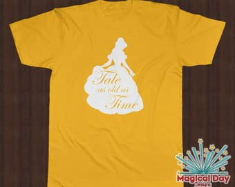 Disney Shirts - Tale As Old As Time - Beauty and the Beast