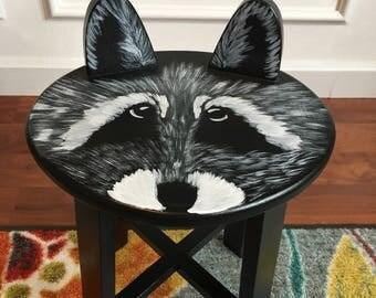 Rambunctious Raccoon stool