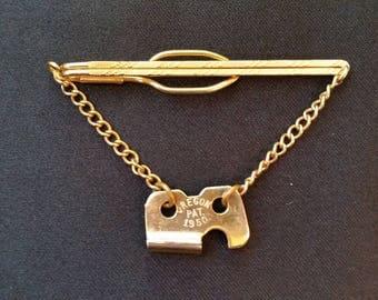 Gold Tone Tie Bar