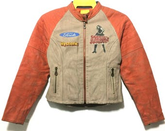 Hysteric leather jacket Small size