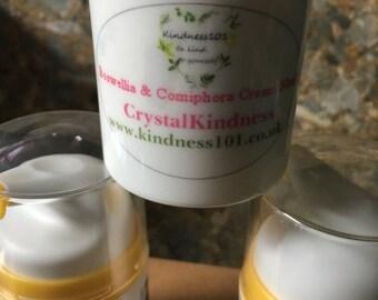 Frankincense & Myrrh Essential Oils Face Cream 50ml, Soothing, Moisturising, Natural