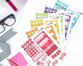 Bright Collection Minis - Planner stickers, Personal Planner Stickers, Sampler Stickers,  Bujo Stickers, Traveler's Notebook Stickers