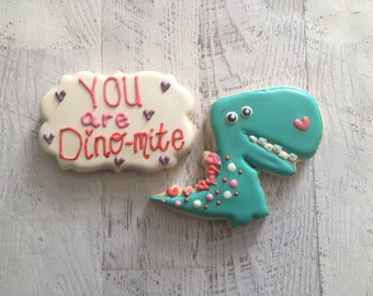 You are Dino-Mite Sugar Cookie Set