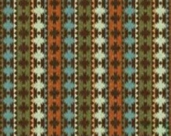 "Daphne B for Windham  Fabrics Wild Woods Collection  ""Native Stripe"""