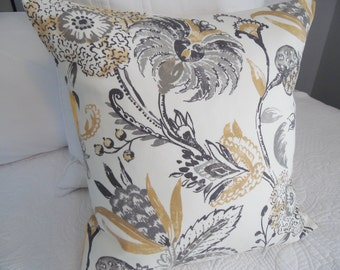 SPRING.Modern Farmhouse.Greys.Butter Yellow.Pillow Covers.Slip Covers.Home Decor Pillow Covers.Floral.Country Living.Spring.Summer Decor