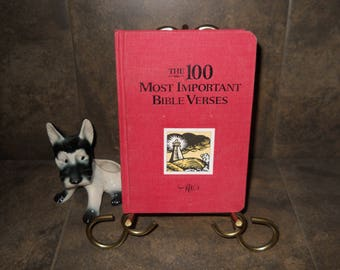 Vintage Book : The 100 Most Important Bible Verses