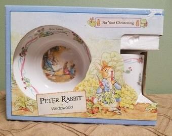 Peter Rabbit by Wedgwood Christening Breakfast Set
