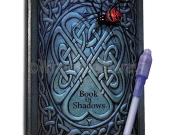 The Book Of Shadows Journal A6 with UV Pen