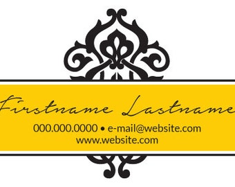 Business Card - Ornate