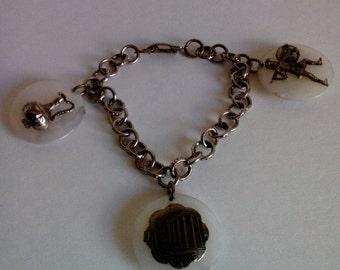 Vintage Souvenir Greek Charm Bracelt