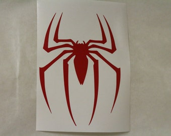 Amazing Spiderman Marvel Decal Any Size Any Colors