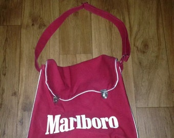 Vintage Marlboro shoulder tote messenger bag