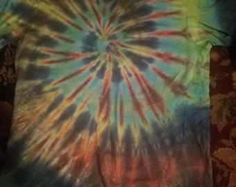 Tye dye music shirt