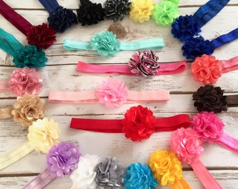 PICK 8 Baby Headbands/Newborn Headband/Baby Girl Headband/Infant Headband/Toddler Headband/Flower Headbands/Baby Headband/Hair Bows/Headband