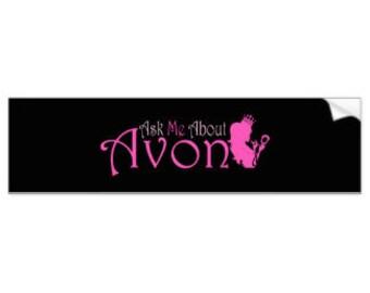 Avon Rep bumper sticker