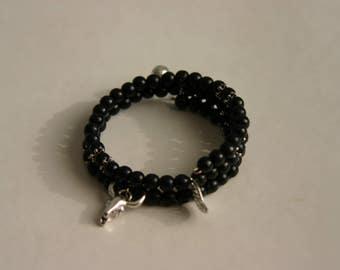 Four spiral bracelet