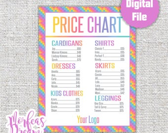 Lularoe Price List Etsy