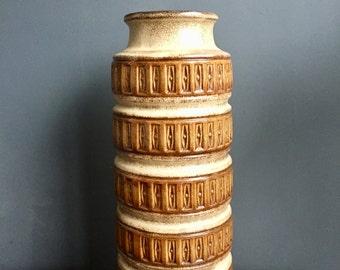 Large Retro Vintage West German Vase