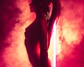 Nude Sith Twi'lek - Cosplay Photo Print A4 Please Choose