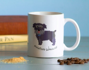 Miniature Schnauzer Mug (boy)