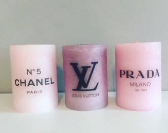 Fashion candles set