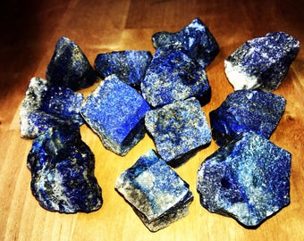 "Lapis Lazuli Rough Stone- Large 1"""