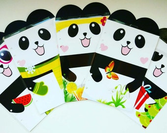 Panda Planner Dividers/ A5/ Personal/ Planner Dividers / Planner Accessories / Planner Decorations / Filofax / Planners /Classy