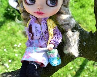 OOAK Blythe doll, Grace Custom art blythe doll by janasOOAKblytheDolls, dolls