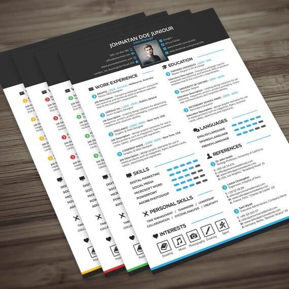 Portfolio Cover Letter: Resume Cover Letter Portfolio 3 In 1