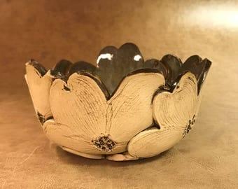 Small Dogwood Bowl 17