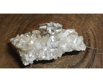 Herkimer Diamond Ring | size 6