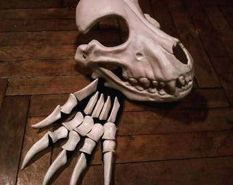 Bone gloves by Maskcraft