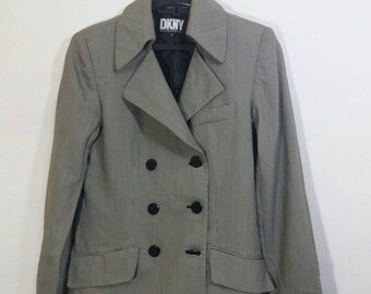 Rare Blazer DKNY for women/saiz 2/made in usa/casual
