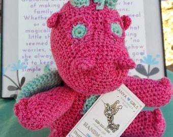 Dragon Egg Dice Bag Crochet Pattern : Crocheted Dragon Mitt Pattern PDF