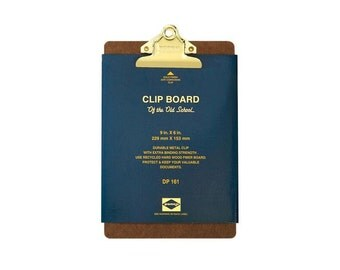 Clipboard, Clip Board, Gold Clipboard, Teacher Clipboard, Nurse Clipboard, A5 Size