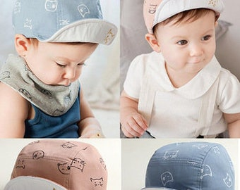 Cute  Trendy Baby Cap | Boys BabyHat | Girls Baby Hat | Baby Fashion Hat | Baby Summer Hat | Toddler Hat | Baby Fashion | Baby Beach Hat