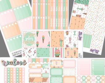 Ice Cream Social- Full Sticker Kit