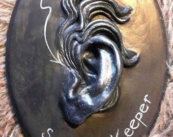 Ornament wall decoration surreal ear Secret keeper