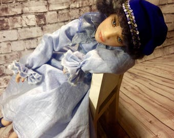 Collectible doll Yaroslavna